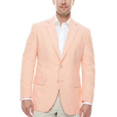 Stafford Linen-Cotton Sportcoat-Big and Tall