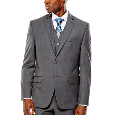 Collection by Michael Strahan Gray Weave Suit Jacket - Classic Fit