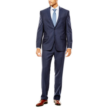 jcpenney.com | Collection by Michael Strahan Striped Navy Suit- Classic