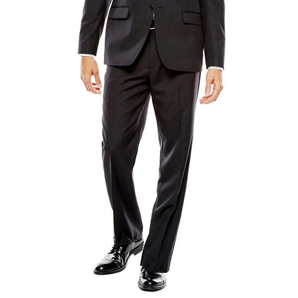 Collection by Michael Strahan Striped Black Suit Jacket - Classic Fit