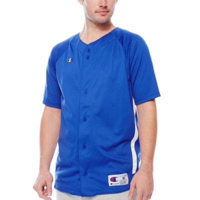 Champion® Prospect Short-Sleeve Full-Button Jersey