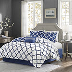 Madison Park Essentials Cole Complete Bedding Set with Sheets