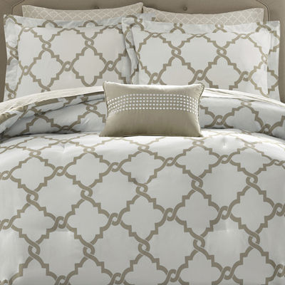 Madison Park Essentials Diablo Reversible Complete Bedding with Sheets