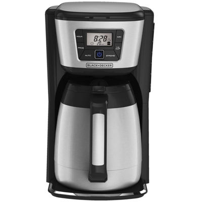 Black+Decker CM2035B 12-Cup Programmable Thermal Coffee Maker