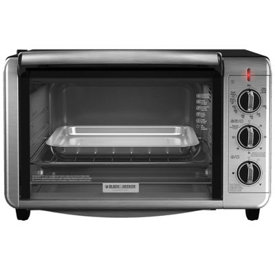 Black+Decker TO3230SBD 6-Slice Convection ToasterOven