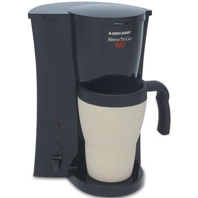 Black+Decker DCM18 Brew 'N Go Personal Coffee Maker
