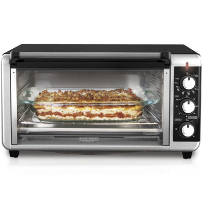 Black+Decker TO3250XSB Extra Wide Toaster Oven
