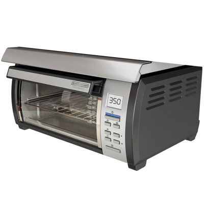 Black+Decker TROS1000D Spacemaker 4-Slice ToasterOven