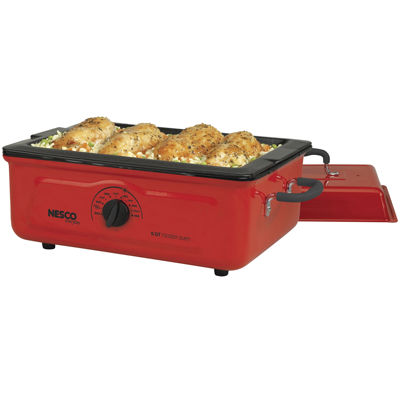 Nesco 4815-12 5-Quart Porcelain Cookwell Roaster