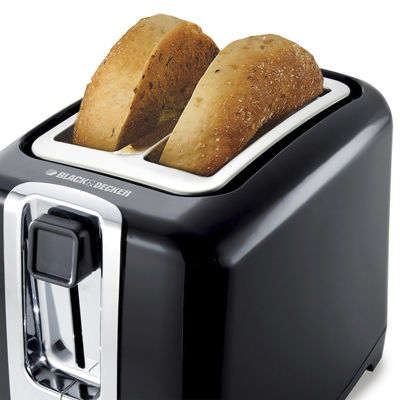 Black+Decker TR1256B Two-Slice Toaster