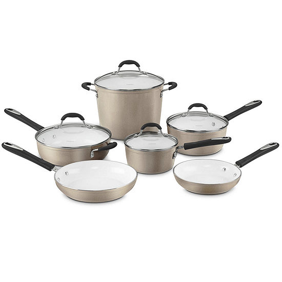Cuisinart®  Elements™ 10-pc. Aluminum Nonstick Cookware Set