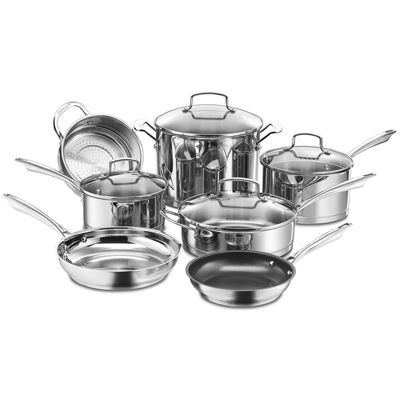 Cuisinart®  Professional Series™ 11-pc. Stainless Steel Cookware Set