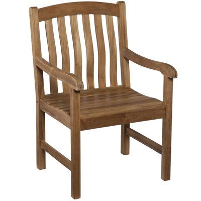 Bronson Outdoor Teak Armchair
