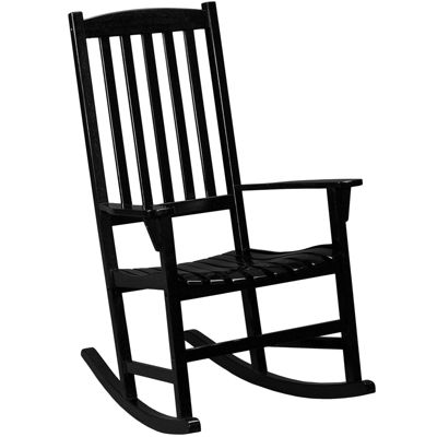 Flagler Outdoor Hardwood Porch Rocker