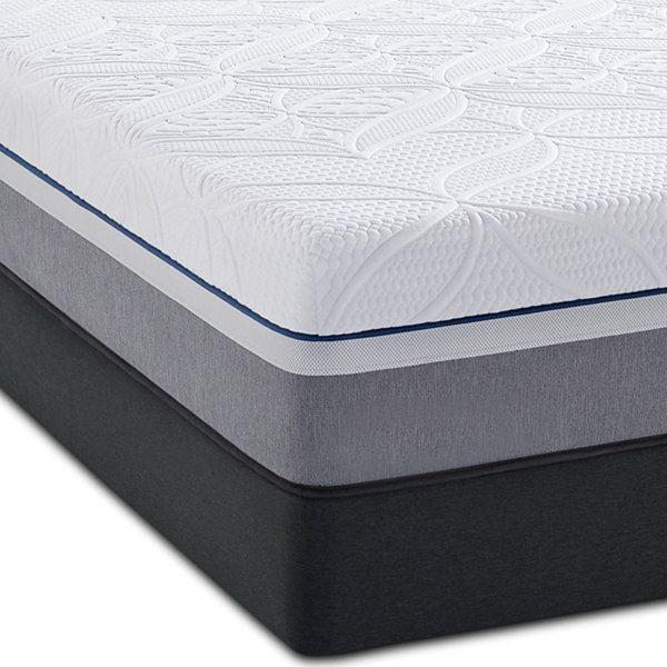 Sealy Posturepedic Premier Hybrid Copper Cushion Firm Mattress Box Spring