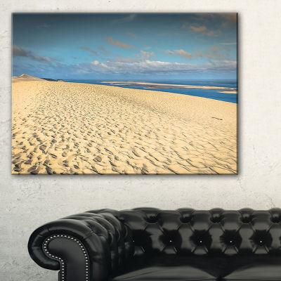 Designart Dune Of Pyla Landscape Photography Canvas Art Print