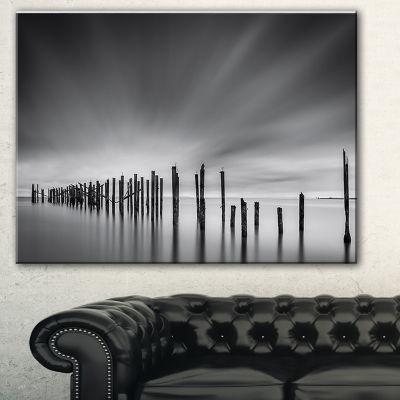 Designart Sunrise Over Lower Manhattan LandscapePhotography Canvas Print - 3 Panels