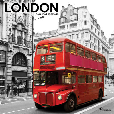 2018 London Wall Calendar