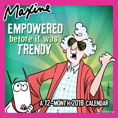 2018 Maxine Mini Calendar