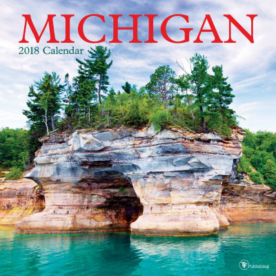 2018 Michigan Wall Calendar
