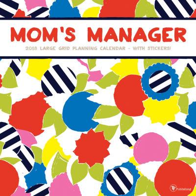 2018 Mom's Manager Wall Calendar