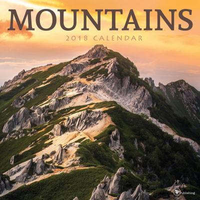 2018 Mountains Wall Calendar