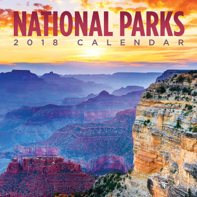 2018 National Parks Mini Calendar