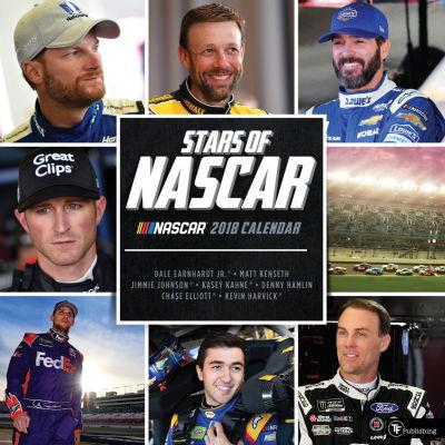 2018 Stars of NASCAR Wall Calendar