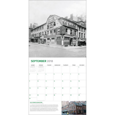 2018 Then and Now - Detroit Wall Calendar