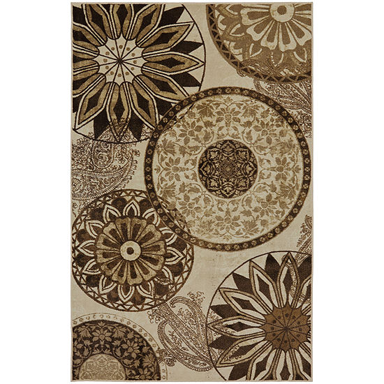Mohawk Home New Wave Inspired India Printed Rectangular Indoor Rugs