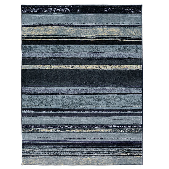 Mohawk Home New Wave Rainbow Printed Rectangular Indoor Rugs