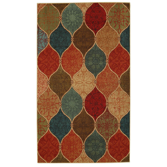 Mohawk Home Soho Riza Tile Fret Printed Rectangular Rugs