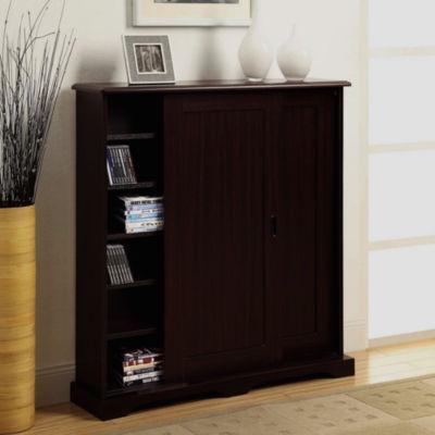 4D Concepts Sliding Door Multimedia Cabinet
