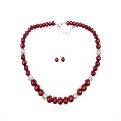 Vieste Rosa Womens 8mm Brass Strand Necklace