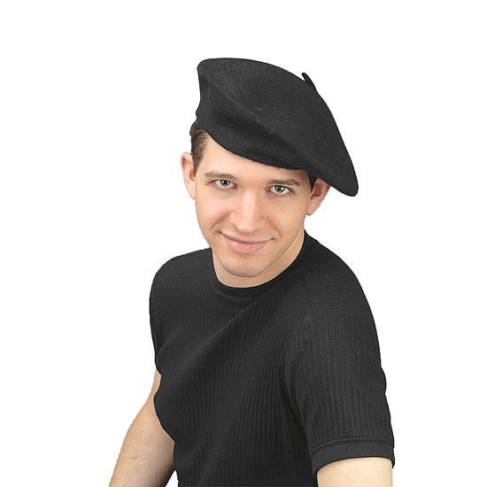 Beret Hat Adult Dress Up Accessory