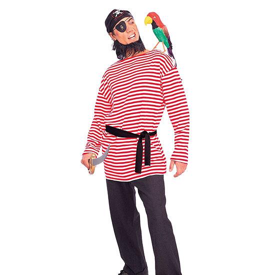 Buyseasons Mens Pirate Matie Shirt Dress Up Costume