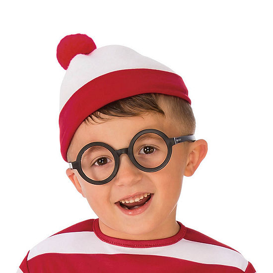 Where'S Waldo Deluxe Glasses Dress Up Accessory Dress Up Accessory