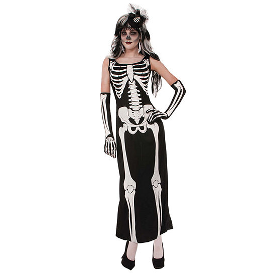 Womens Bone Dress Costume