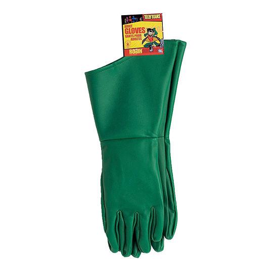 Robin Adult Gloves Dc Comics Dress Up Accessory 2-pc. DC Comics Dress Up Accessory