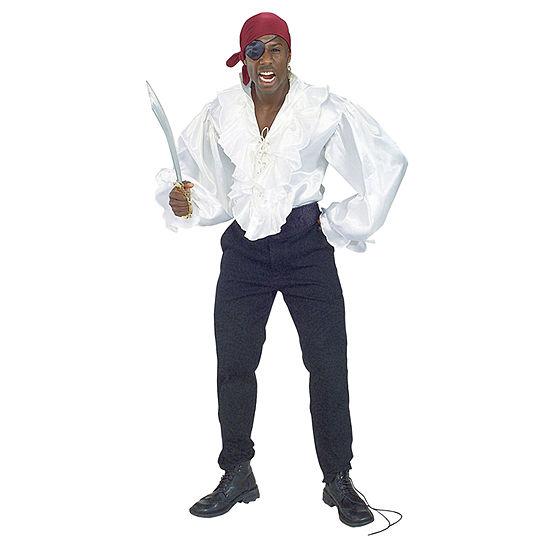 Satin Pirate Adult Shirt