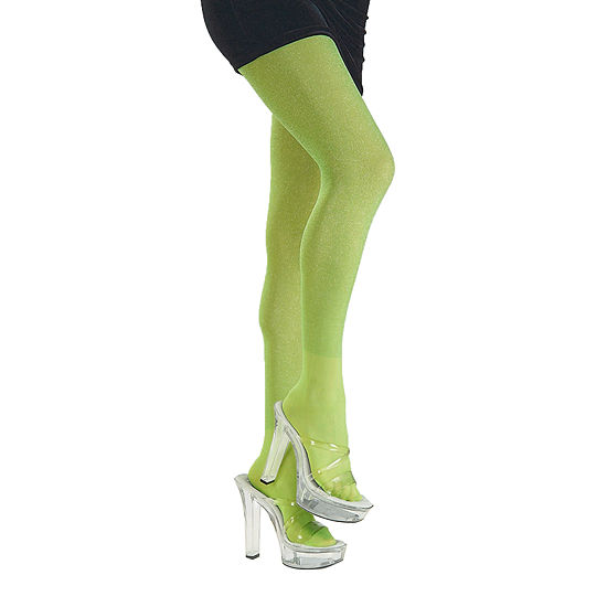 Womens Lime Green Tights
