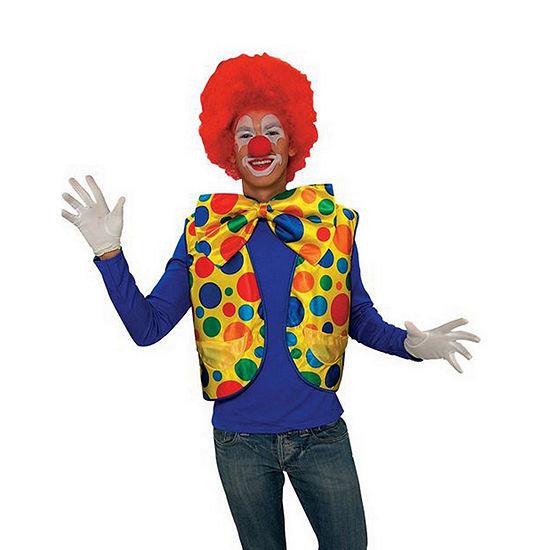 Deluxe Clown Vest Dress Up Costume