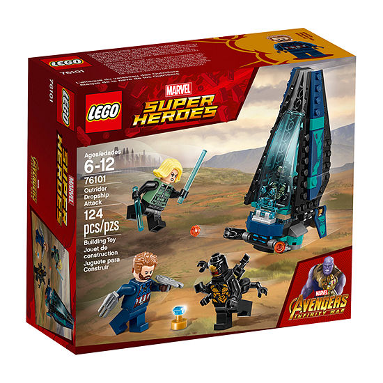 LEGO Marvel Super Heroes Avengers Outrider Dropship Attack 76101