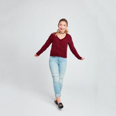 Brooklyn & Bailey - Top Pick - Arizona High-Rise Straight Leg Jeans - Juniors