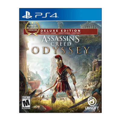 Playstation 4 Assassins Creed Odyssey: Deluxe Edition Video Game