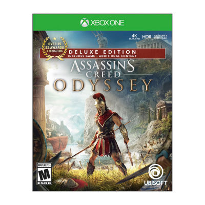 XBox One Assassins Creed Odyssey: Deluxe Edition Video Game