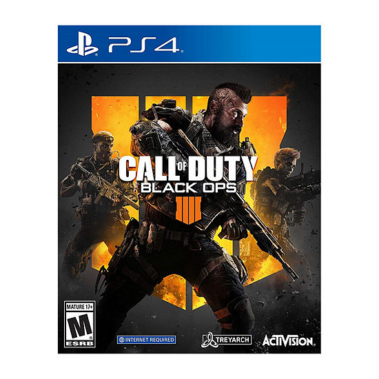 Playstation 4 Call Of Duty: Black Ops 4 Video Game