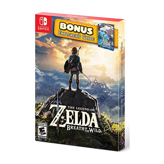 Nintendo Switch The Legend Of Zelda: Breath Of The Wild: Starter Pack Video Game