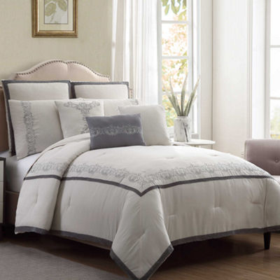 Pacific Coast Textiles 8-Piece Lace Comforter Set Lori