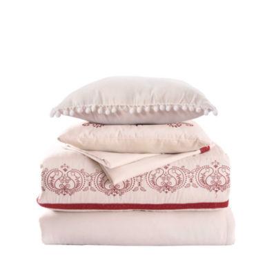 Pacific Coast Textiles 8-Piece Lace Comforter Set Lori
